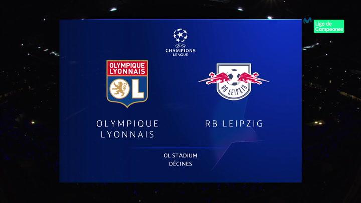 Champions League Resumen y Goles del Lyon - Leipzig