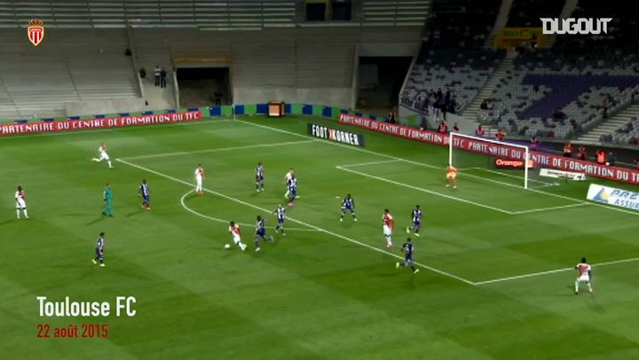 Thomas Lemar's first goal at Monaco