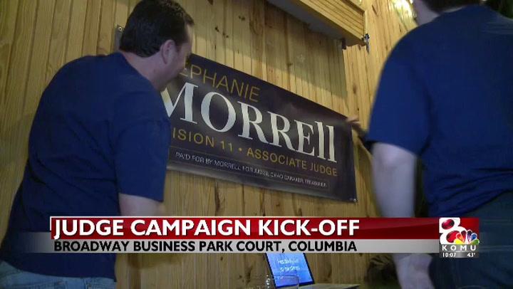 Morrell campaign kick off