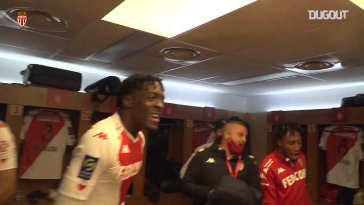 Behind the scenes of Monaco's celebrations after incredible comeback vs PSG