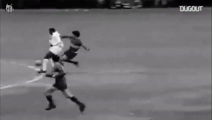El triunfo de Santos ante Boca Juniors en la Libertadores 1963