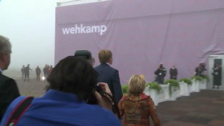 Koning opent distributiecentrum Wehkamp
