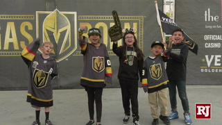 Golden Knights Fans Gather Downtown For First Round of Playoffs – Video