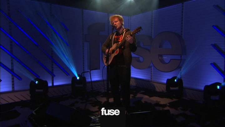 "Interviews: Watch Ed Sheeran Perform ""Lego House"" Live at Fuse"