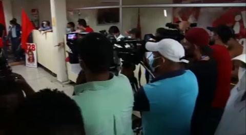 Elecciones 2021: Presentan la alianza Libre-PSH en la capital hondureña