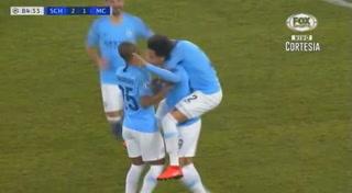 ¡Un golazo de Champions! Leroy Sané anota al Schalke 04 con este violento zurdado