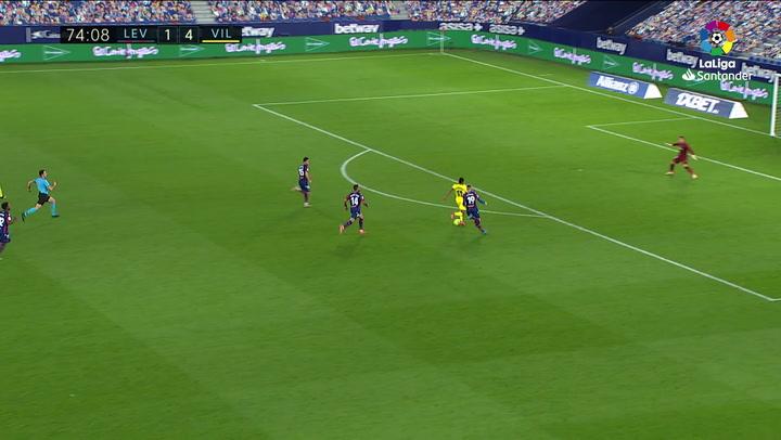 Gol de Chukwueze (1-5) en el Levante 1-5 Villarreal