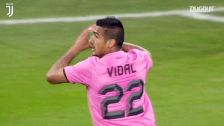 Arturo Vidal's incredible solo effort downs SSC Napoli