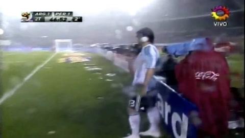 Palermo reveló un detalle desconocido sobre su gol agónico a Perú en las eliminatorias 2009