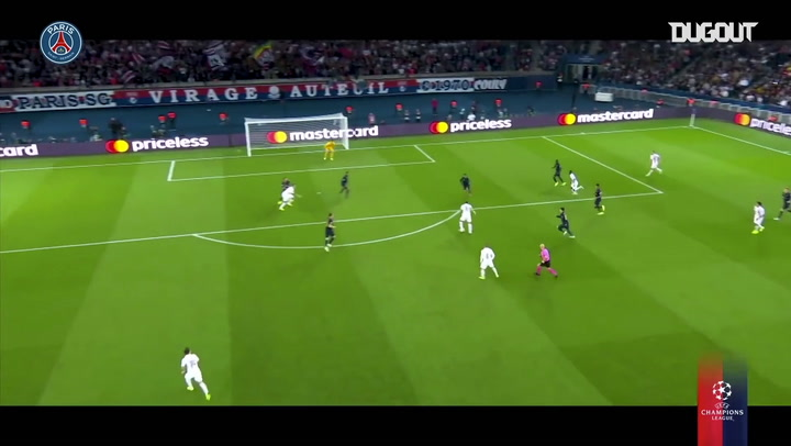 All Paris Saint-Germain's goals so far in the 2019-20 Champions League