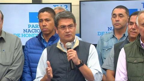 Hernández dispuesto a revisión total de elecciones de Honduras