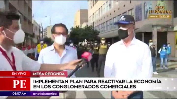 """Muñoz: """"Trabajamos de manera integral para que Mesa Redonda sea un espacio seguro"""""""