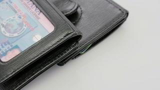 1402RL-09 SAFFIANO Wallet/Clip