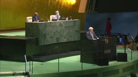 La COP26 es un punto de inflexión para la humanidad, según Boris Johnson