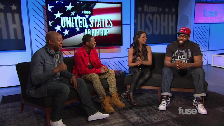 Shows: United States of Hip Hop: Athletes being Rappers