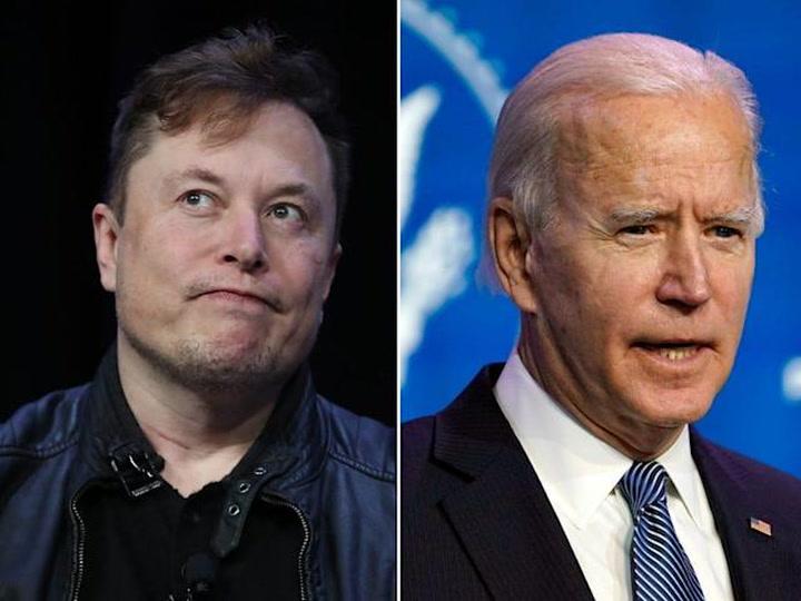 Elon Musk mocks Joe Biden after SpaceX's first successful all-civilian mission