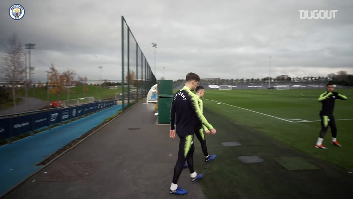Manchester City Prepare for Lyon Encounter