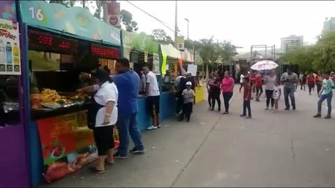 Se comienza a sentir al ambiente en el Festival de Tegucigalpa