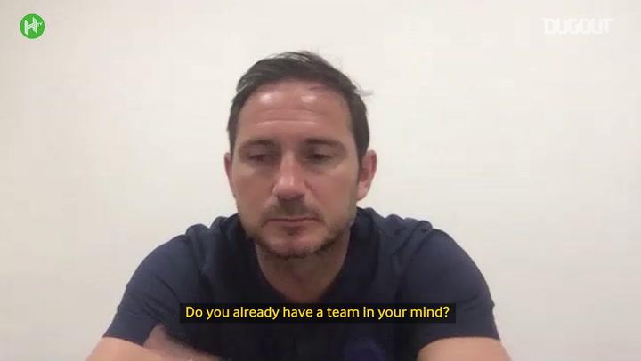 Lampard eyes Chelsea improvement against Man City