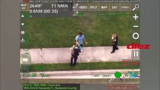 Sale a la luz un nuevo video de un policía presionando el cuello de hombre afroamericano con su rodilla