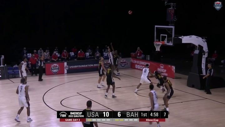 USA-Bahamas AmeriCup Qualifying Highlights