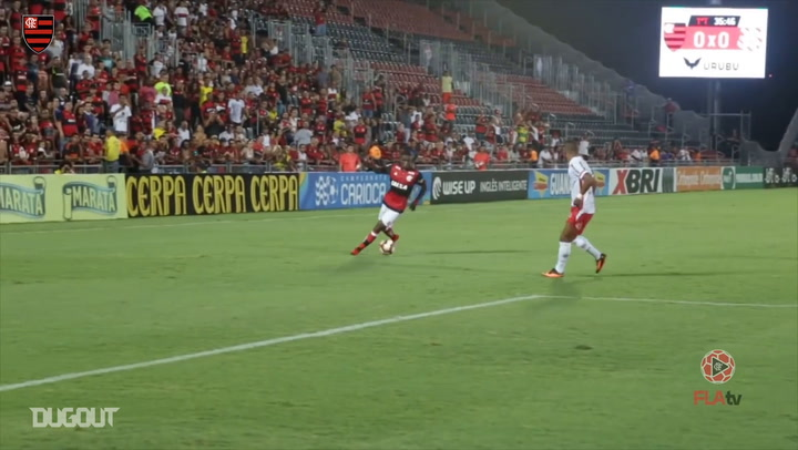 Lincoln's first Flamengo goals