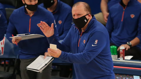 What are the odds for Knicks' Tom Thibodeau to win Coach of the Year?