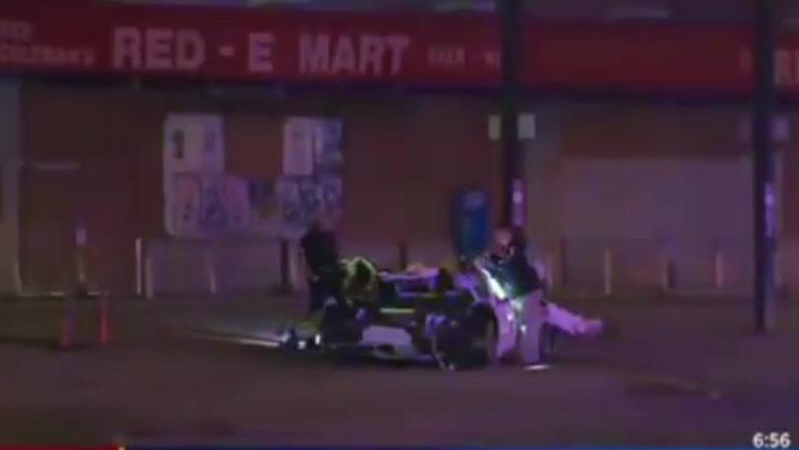 Así quedó el coche del boxeador Errol Spence Jr tras sufrir un trágico accidente