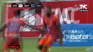 La UPNFM logra remontar ante Motagua en Danlí con gol de Jairo Róchez