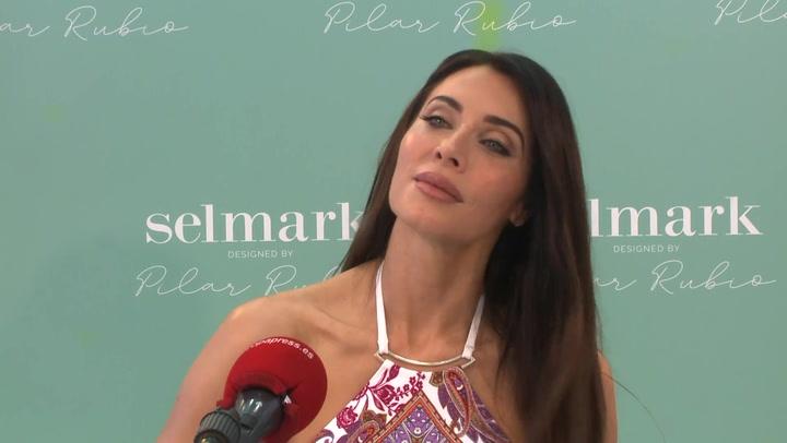 Pilar Rubio anuncia una nueva línea de baño tras superar el Covid