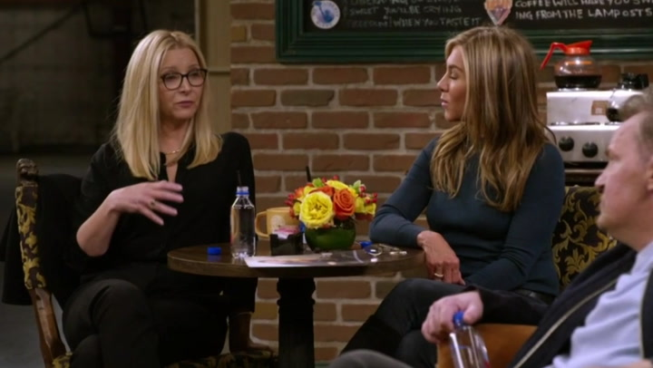 Réunion d'amis: Lisa Kudrow admits she's 'mortified' with performance on show