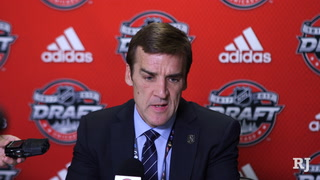 George McPhee glad Hague fell to the Vegas Golden Knights