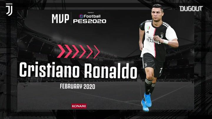 Cristiano named February MVP