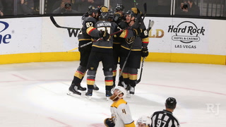 Golden Knights snap losing streak, defeat Nashville 5-1