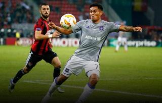 El Anderlecht de Andy Najar cae ante Spartak Trnava por la Europa League