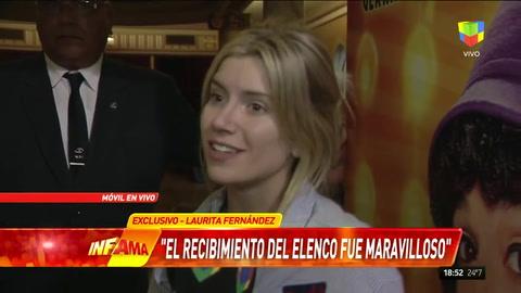 Laurita Fernández antes de estrenar Sugar: Soy una privilegiada