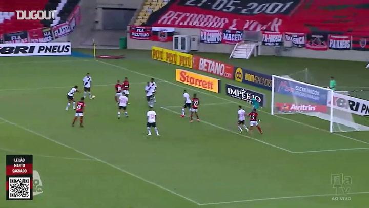 Vitinho's goal against Vasco