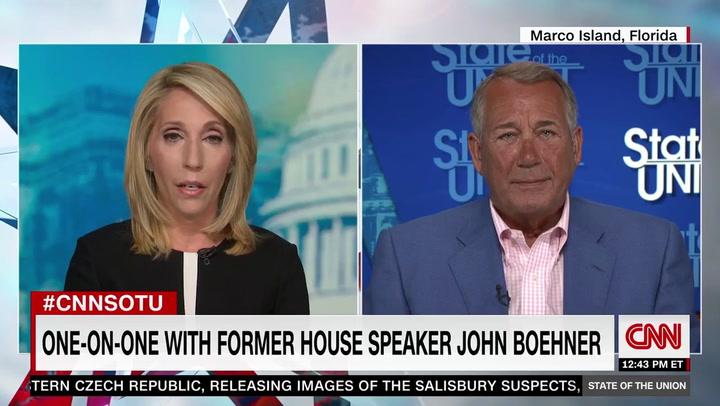 Boehner: Mass Shootings 'Embarrassing Our Country'