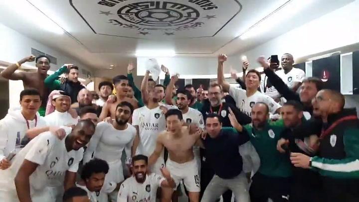Xavi, campeón de la Copa de Qatar
