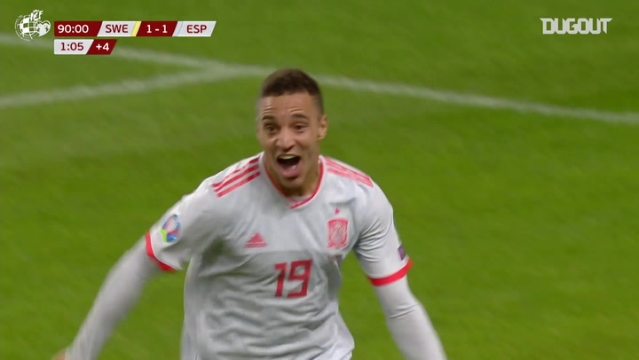 Rodrigo's injury-time goal to secure Spain's Euros qualification