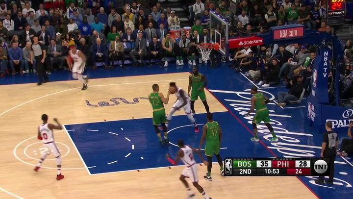 Las 5 mejores jugadas de la jornada de la NBA del 5 de enero de 2020