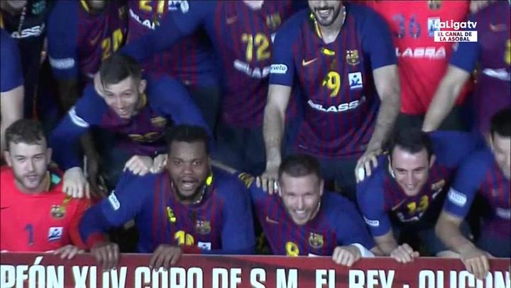 El resumen del FCB Lassa (34) - (18) Liberbank Cuenca, final de la Copa del Rey 2019