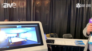 AVI LIVE: Nureva Demos HDL300 Conferencing Audio Speaker Solution for Small to Mid-Sized Spaces