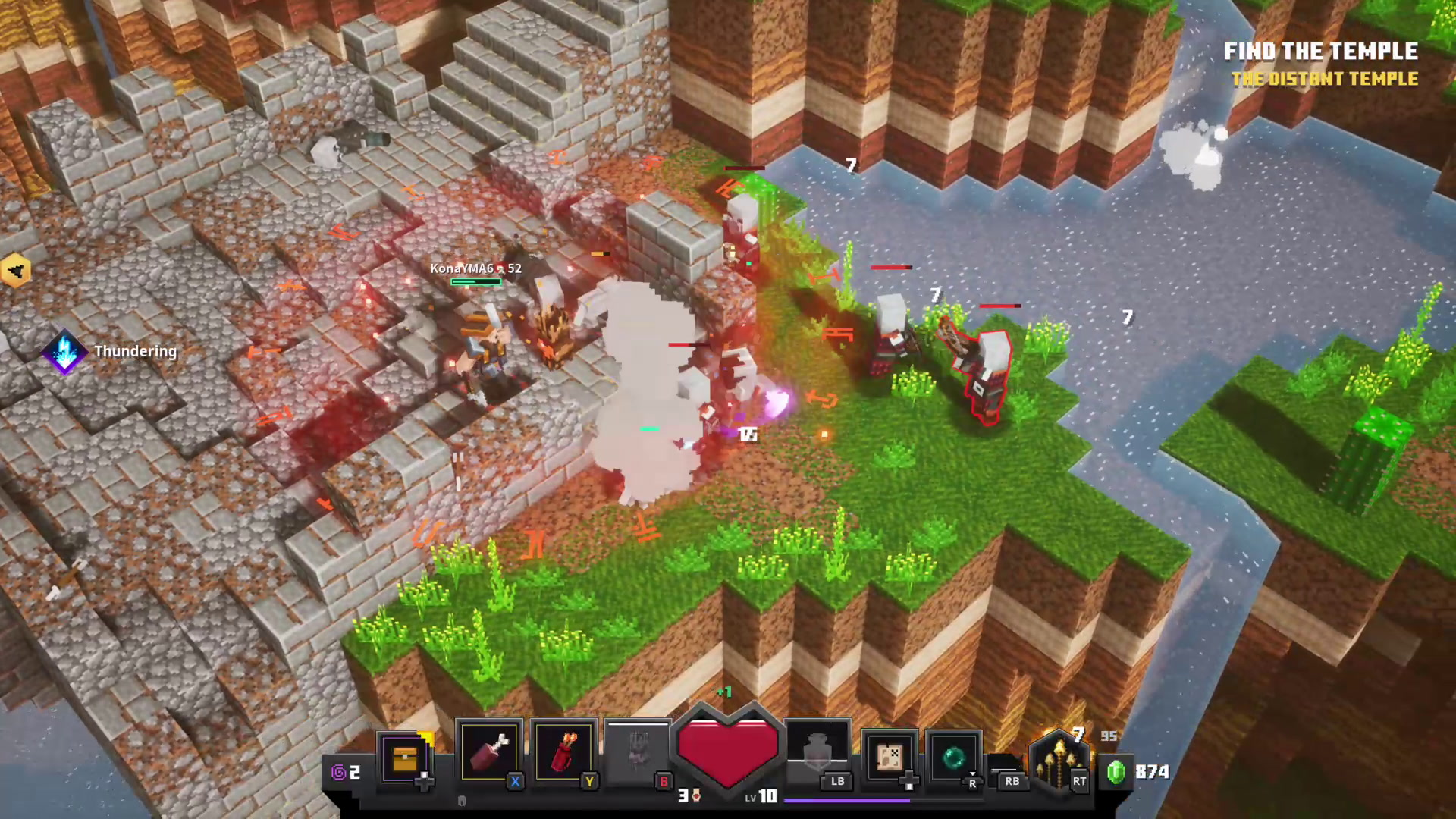 'Minecraft Dungeons' review: short but sweet dungeon crawler that struggles  to live up to its name