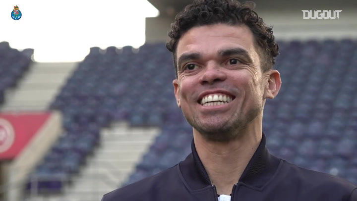 Pepe Unveiled After Sealing Porto Return