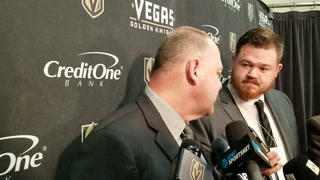 Golden Knights coach Gerard Gallant on overcoming a slow start