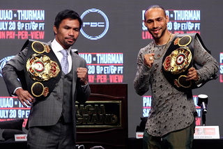 Pacquiao-Thurman press conference highlights – VIDEO