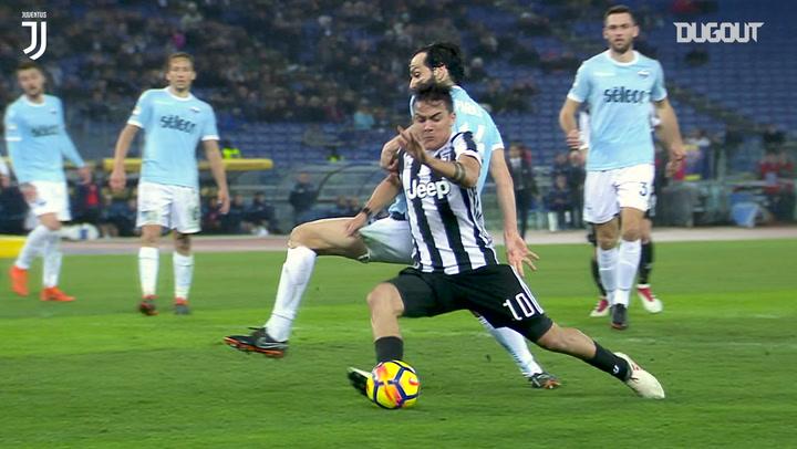 Paulo Dybala secures last-minute winner against SS Lazio