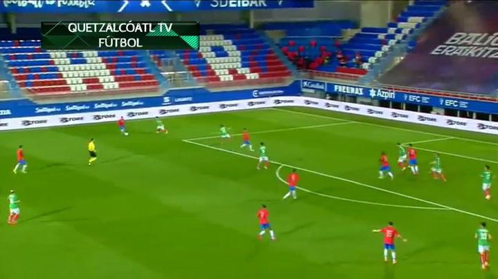 El resumen del Euskadi - Costa Rica (2-1)