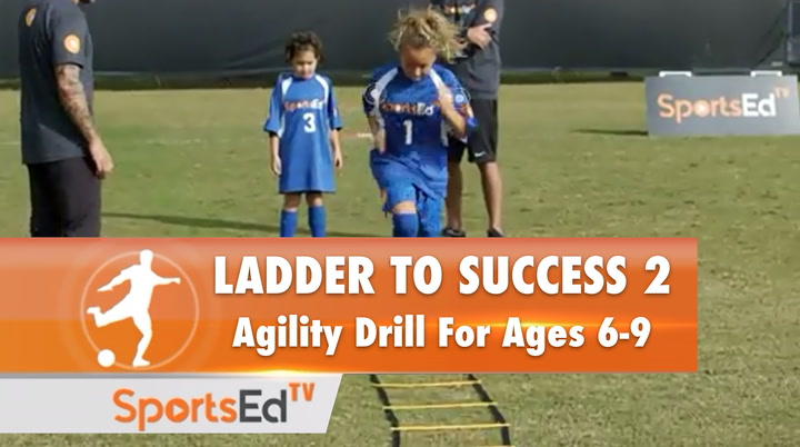 LADDER TO SUCCESS 2 - Agility Drill for Ages 6-9